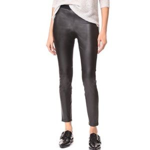 NWT BB Dakota Faux Leather Pull On Pants